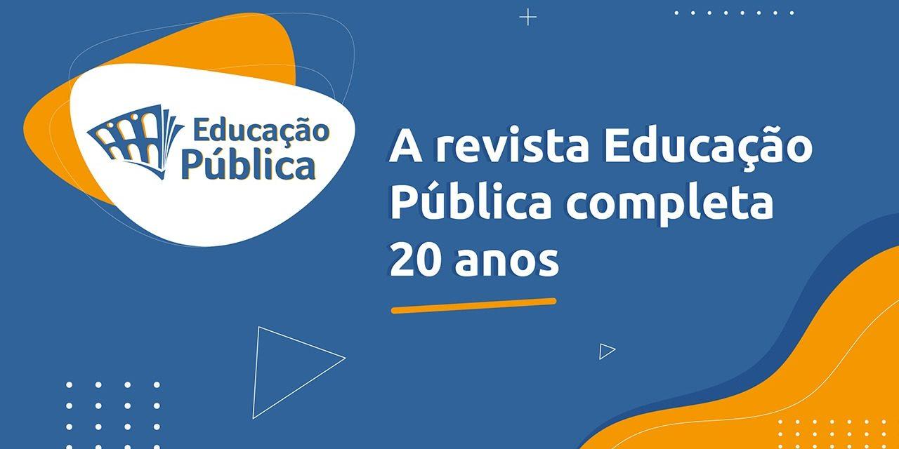 Revista Educação Pública completa 20 anos