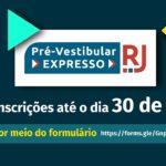Pré-Vestibular Expresso da Fundação Cecierj está com inscrições abertas