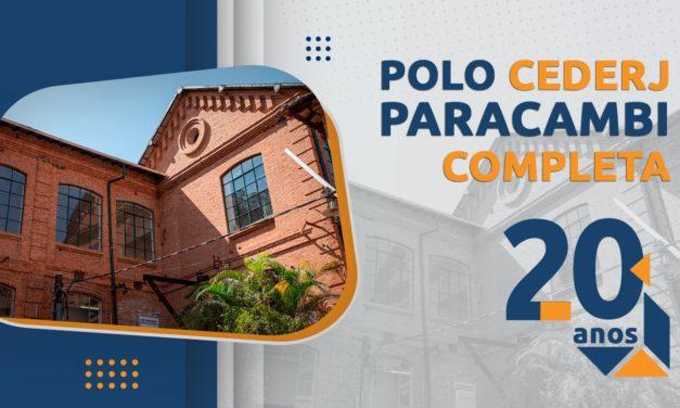 Polo Cederj de Paracambi completa 20 anos de inauguração na cidade