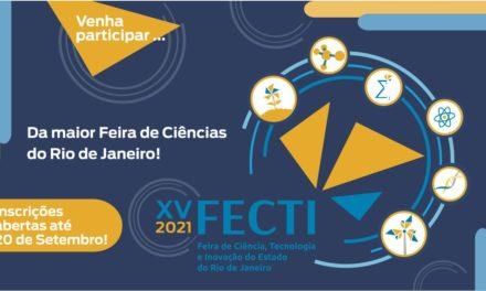 Fundação Cecierj abre inscrições para a 15ª edição da Feira de Ciência Tecnologia e Inovação do Estado do Rio de Janeiro