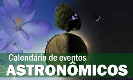 Calendário Astronômico – Setembro