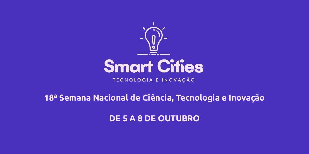 Smart cities e biomassa são temas de palestras promovidas pela SECTI
