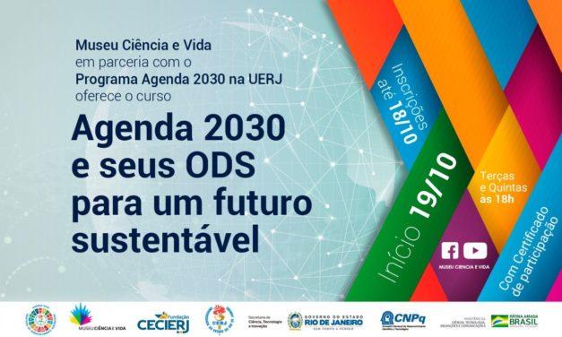 Curso ODS no âmbito da SNCT/2021 – Agenda 2030 e seus ODS por um futuro sustentável