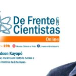 De Frente com Cientistas com o historiador Edson Kayapó